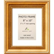 "Amanti Art  Townhouse Gold Wood Photo Frame 8"" x 10"" (DSW1385313)"