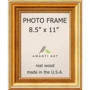 "Amanti Art  Townhouse Gold Wood Photo Frame 8.5"" x 11"" (DSW1385299)"