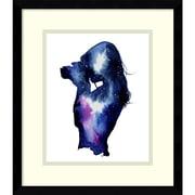 "Amanti Art Jessica Durrant 'Shooting Stars' Framed Art Print 13"" x 15""  (DSW2972136)"