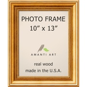 "Amanti Art  Townhouse Gold Wood Photo Frame 10"" x 13"" (DSW1385301)"