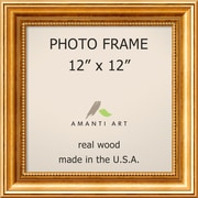 "Amanti Art  Townhouse Gold Wood Photo Frame 12"" x 12"" (DSW1385300)"