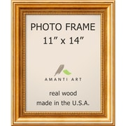 "Amanti Art  Townhouse Gold Wood Photo Frame 11"" x 14"" (DSW1385302)"