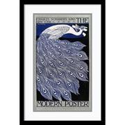 Amanti Art William H. Bradley 'The Modern Poster' Art Print 14 x 21 in. Black Satin Wood Frame (DSW1385084)