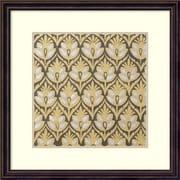 Amanti Art Indian Motif 7' Art Print 18 x 18 in. Dark Bronze Frame (DSW1418559)