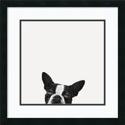 Amanti Art Jon Bertelli 'Loyalty' Art Print 22 x 22 in. Satin Black Wood Frame (DSW1385034)