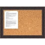 Antique Pine Cork Board, Medium Message Board 28 x 20 inch (DSW1418334) by