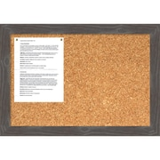 Woodridge Grey Cork Board - Medium Message Board 27 x 19-inch (DSW1418335)