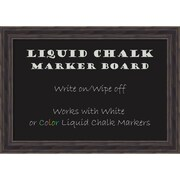 Rustic Pine Liquid Chalk Marker Board Medium Message Board 28 x 20-inch (DSW2972098)