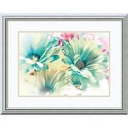 "Dina Marie 'Colored Stars' Framed Art Print 24"" x 19"" (DSW2972638)"