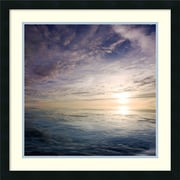"Jeremy Cangialosi 'Cloudscape Echoes IV' Framed Art Print 24"" x 24"" (DSW1418475)"