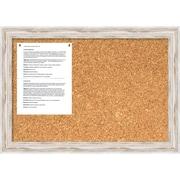Alexandria Whitewash Cork Board, Medium Message Board 27 x 19 inch (DSW1418333) by