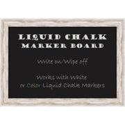 Alexandria Whitewash Liquid Chalk Marker Board Medium Message Board 27 x 19-inch (DSW2972094)