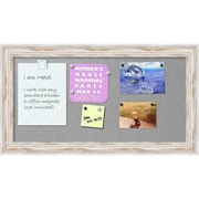 Alexandria Whitewash Magnetic Board Magnetic Board 27 x 15-inch (DSW2972387)