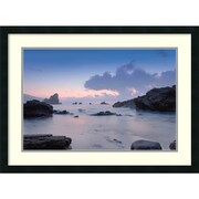 PhotoINC Studio Cliffs Framed Art Print 31 x 23-inch (DSW1421136)