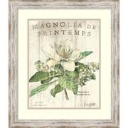 "Sue Schlabach 'Magnolia de Printemps' Framed Art Print 20"" x 23"" (DSW1418466)"