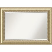 "Amanti Art Astoria Wall Mirror - Extra Large 43"" x 31"" Champagne (DSW1385259)"