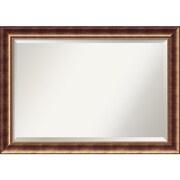 "Amanti Art Manhattan Wall Mirror - Extra Large 42"" x 30"" Bronze (DSW1385258)"