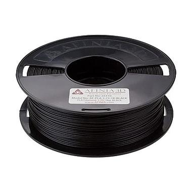 Afinia Value-Line PLA Filament for 3D Printers, Black, (AFPLA1.751KBLAC)