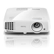BenQ – Projecteur commercial MW526A efficace et écologique, WXGA, 3300 lumens ANSI, HDMI, haut-parleur, 3D
