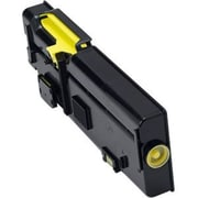 Dell Toner Cartridge, Laser, High Yield, Yellow, (2K1VC)