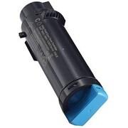 Dell Toner Cartridge, Laser, Standard Yield, OEM, Cyan, (WG4T0)