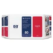 HP 80 Ink Cartridge, Retail, Magenta, (C4892A)
