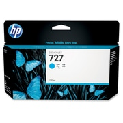 HP 727 Ink Cartridge, Inkjet, Standard Yield, Cyan, (B3P19A)