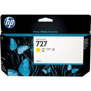HP 727 Ink Cartridge, Inkjet, Yellow, (F9J78A)
