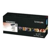Lexmark Toner Cartridge, Laser, High Yield, Black, (X264H80G)