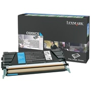 Lexmark Return Program Toner Cartridge, Laser, Cyan, (C5200CS)
