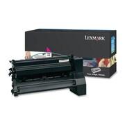Lexmark Return Program XL Toner Cartridge, Laser, Extra High Yield, Magenta, (C782U1MG)
