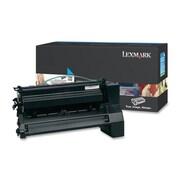 Lexmark Return Program XL Toner Cartridge, Laser, Extra High Yield, Cyan, (C782U1CG)