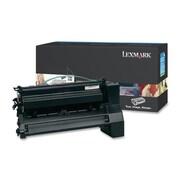 Lexmark Return Program XL Toner Cartridge, Laser, Extra High Yield, Black, (C782U1KG)