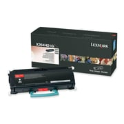 Lexmark Toner Cartridge, Laser, High Yield, Black, (X264H21G)