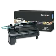 Lexmark C792X2KG Toner Cartridge, Laser, Extra High Yield, OEM, Black, (C792X2KG)