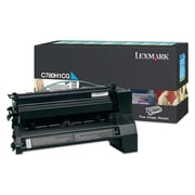 Lexmark Return Program Toner Cartridge, Laser, High Yield, Cyan, (C780H1CG)