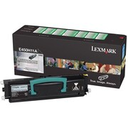 Lexmark E450H11A Toner Cartridge, Laser, High Yield, (E450H11A)