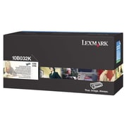 Lexmark Toner Cartridge, Laser, High Yield, Retail, Black, (10B032K)