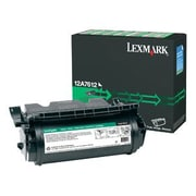 Lexmark Factory Reconditioned Print Cartridge, Laser, High Yield, Black, (12A7612)