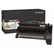 Lexmark Toner Cartridge, Laser, Retail, Magenta, (10B032M)