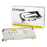 Lexmark Toner Cartridge, Laser, High Yield, OEM, Yellow, (20K1402)