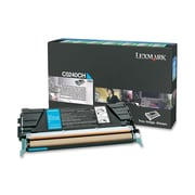 Lexmark Return Program Toner Cartridge, Laser, High Yield, Cyan, (C5240CH)