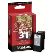 Lexmark No.31 Photo Ink Cartridge, Inkjet, Colour, (18C0610)