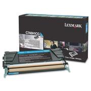 Lexmark C748 Return Program Toner Cartridge, Laser, High Yield, Cyan, (C748H1CG)