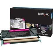 Lexmark Toner Cartridge, Laser, Standard Yield, Magenta, (C746A2MG)