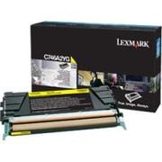 Lexmark Toner Cartridge, Laser, Standard Yield, Yellow, (C746A2YG)
