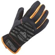 Ergodyne 815 QuickCuff Utility Glove, Black, L, Pair (17204)