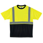 Ergodyne GloWear 8289BK Class 2 T-Shirt, Lime, Assorted Sizes