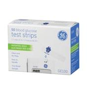 GE Blood Glucose Test Strips, (GE100)