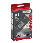 "Veridian Healthcare® Pocket Digital Pedometer, 1.25""H x 2.8""W x 0.3""D (19-005)"